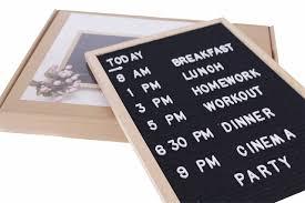 Pearhead Felt Letterboard Set White Letter Board Felt