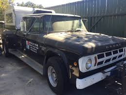 Twin-Supercharged 1968 Dodge Crew Cab Dually Up For Sale On Craiglist