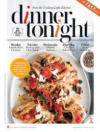 Cooking Light Magazine – Dinner Tonight May 2014 by Stephen