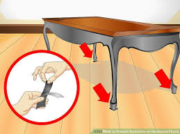 Furniture Sliders For Hardwood Floors by 4 Ways To Prevent Scratches On Hardwood Floors Wikihow