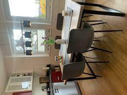 4 esszimmerstühle skandinavischer stil