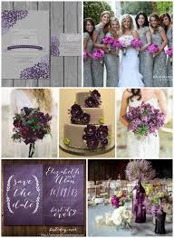 A DIY Purple Rustic Wedding T