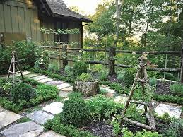 Image Of Small Garden Fences Ideas