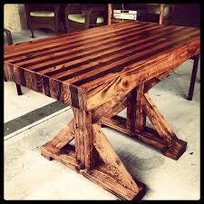 Butcher Block Table I Made