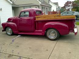 100 1951 Chevy Truck For Sale Chevrolet 3100 Chopped Pickup For Sale Hotrodhotline