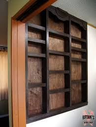 built in kitchen wall shelves hometalk