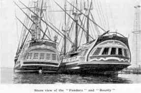 ships used in the 1935 mgm mutiny on the bounty