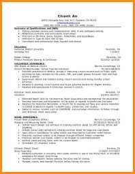 Volunteer Experience On Resume Examples Beautiful Samples Hospital Example