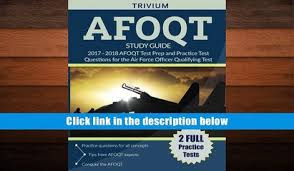 FREE DOWNLOAD AFOQT Study Guide 2017 2018 Test Prep And Practice Questions For The