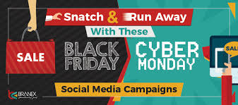 Black Friday And Cyber Monday Snatch Run Away With These Black Friday Cyber Monday Social Media