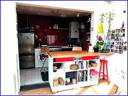 bar am駻icain cuisine bar americain meuble meuble de separation cuisine salon bar