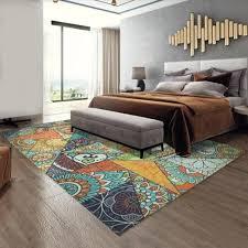 neue mode europäischen geometrie moderne großflächige teppiche teppich für schlafzimmer wohnzimmer flur esszimmer blau orange vova