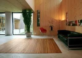 teppiche bambusteppich stripes bambus teppich