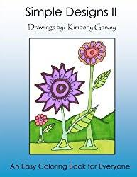 Coloring Books For Seniors Simple Designs