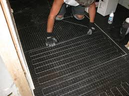 Schluter Heated Floor Manual by Heat Wire Installation Tips The Original Rpm Mats