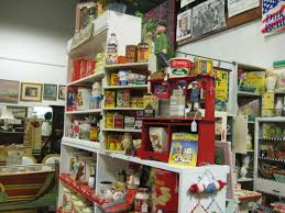 Antique Mall Booth Display Ideas Stacking Works Well