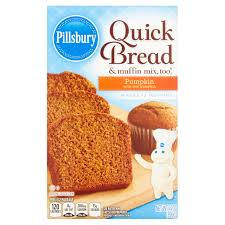 Libby Pumpkin Muffins by Pillsbury Pumpkin Quick Bread U0026 Muffin Mix 14 Oz Walmart Com