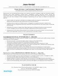 Resume For Law Enforcement Examples Police