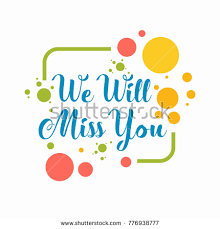 Prime We Will Miss You Clipart 81 About Remodel School With