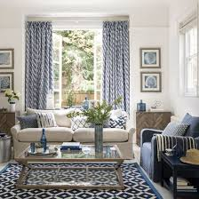 Bring Home The Relaxed Mood Of Med With A Simple Combo Blue And White