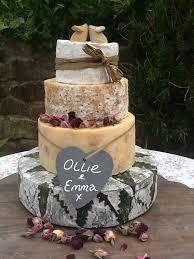 Cornish Yarg Cheese Wedding Cake