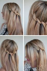 Beautiful Waterfall Twist Summer Hairstyle Ideas Cute Braid For Girls