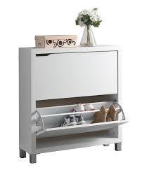 Baxton Studio Shoe Cabinet White by Shoe Cabinet White Indelink Com