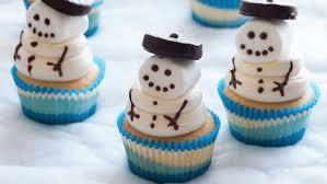 Photo Of Snowman Cupcakes