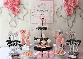 Marilyn Monroe Inspired Senior Prom Table