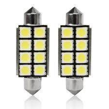 led bulb led c5 10w 12v 42mm 8led white canbus autotrend
