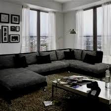 wohnzimmer schwarz weiß konzept wohnzimmermöbel ideen