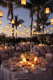 Image Of Outdoor Wedding Decorations Lanterns