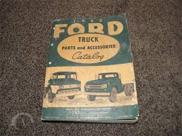 AuctionTime.com | 1960 FORD TRUCK PARTS & ACCESSORIES CATALOG FD ...