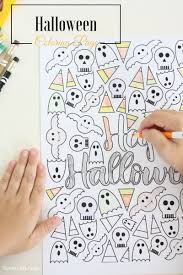 Get Ready For Halloween With This Fun Free Printable Coloring Page Its