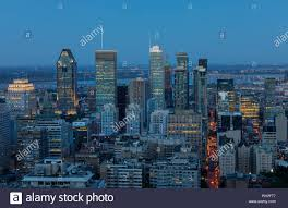 100 Belvedere Canada Montreal Downtown In The Evening View From Kondiaronk