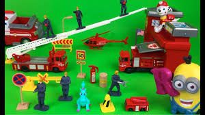 100 Fire Trucks Youtube Motor Max Station Playset With Truck Rescue Helicopter And