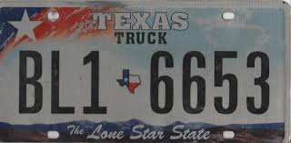 Texas Truck State Plate #BL1 - 6653 | License Plates | HobbyDB Manitoba 1983 Natural Truck Plates Pair Natu Flickr Confederate Flag License Plates More Popular In Tennessee Time An Old Rusted Truck With California License Plates Stock Photo 1953 Gmc 2ton Flatbed Original Yellow Clear Ets2 Custom Name Youtube Group Special Department Of Revenue Motor Vehicle Filenew Jersey 1958 Farm License Plate Woody1778a Home 1968 Texas Truck Pair 1x5842 Nos Unissued Untitled Registration Plate Wikipedia