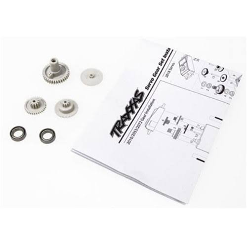 Traxxas 2072 Gear Set/2070 & 2075 Servos