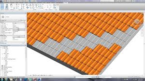 Monier Roof Tile Colours by Revit Tips Spanish Roof Tile With Download Link Youtube