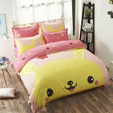 Duvet bedding set Pokemon Go pink Pikachu Unique and Exclusive Design