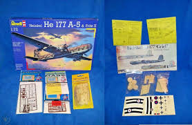 100 Fritz 5 Revell 4616 172 Heinkel He177A X Wseveral