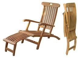 teak steamer chairs henderson outdoor garden patio furniture