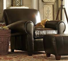 Pottery Barn Recliner Chairs Feturing Pottery Barn Leather