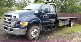 2007 Ford F650 Super Duty SuperCab Tow Truck | Item K7454 | ...
