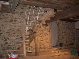 escalier et rambardes en chataignier et douglas rondinsdesbois