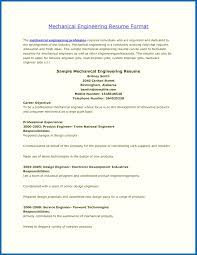 Best Resume Templates For Freshers Engineers Mechanical Engineering Format Fresher Diploma Images