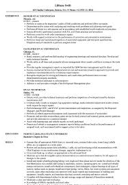 Best Hvac And Refrigeration Resume Example LiveCareer Technician