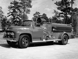 1956 Ford F-800 Big Job Firetruck By Howe