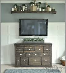 Image Result For Floating Shelving Above Drawers
