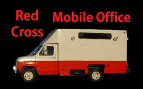 100 Custom Truck Hq Red Cross Van Mobile Office Headquarters HQ Video RV Conversion